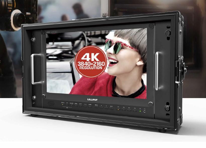 Lilliput 15 6 inch 12G-SDI 4K monitor 4 x HDMI BM150-12G