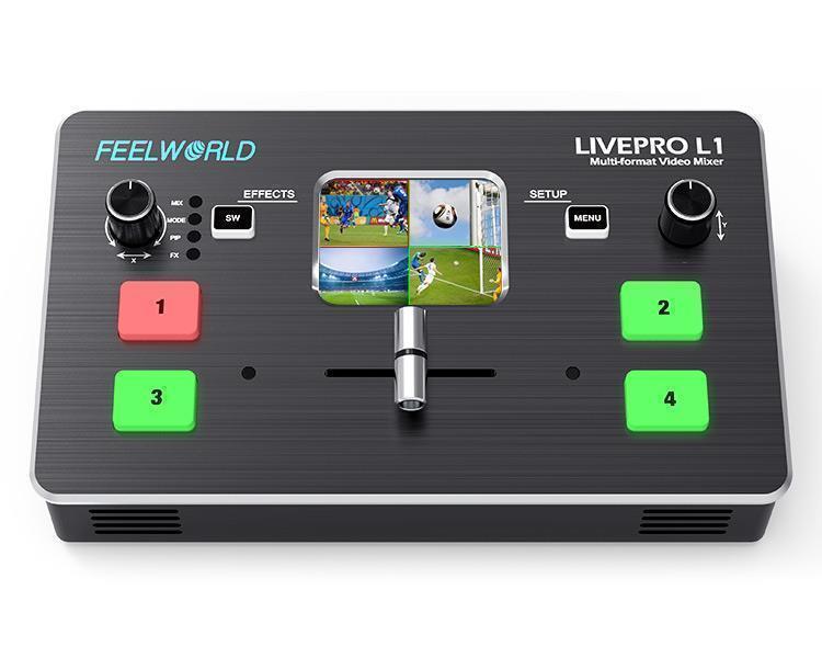 Videomischer für Streaming Feelworld LivePro L1