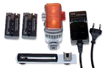 LED Digi Pro80 Camera light - complete set