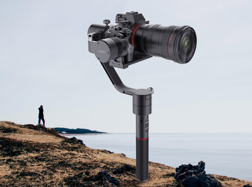 3 Achsen GIMBAL Gudsen MOZA AIR für Kameras bis 2.5 Kg