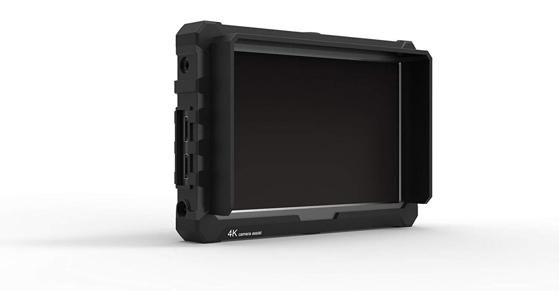 Lilliput A7S Black Edition 4K fähiger HDMI Monitor 7 Zoll mit Full HD Panel