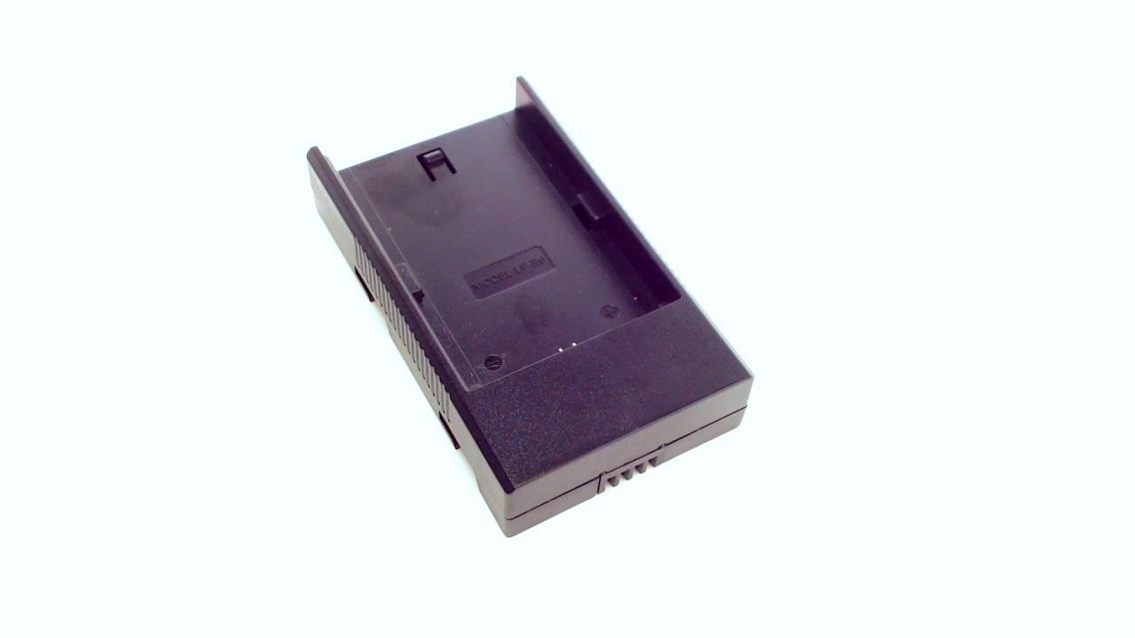 Lilliput battery adapter for Canon LP-E6 batteries
