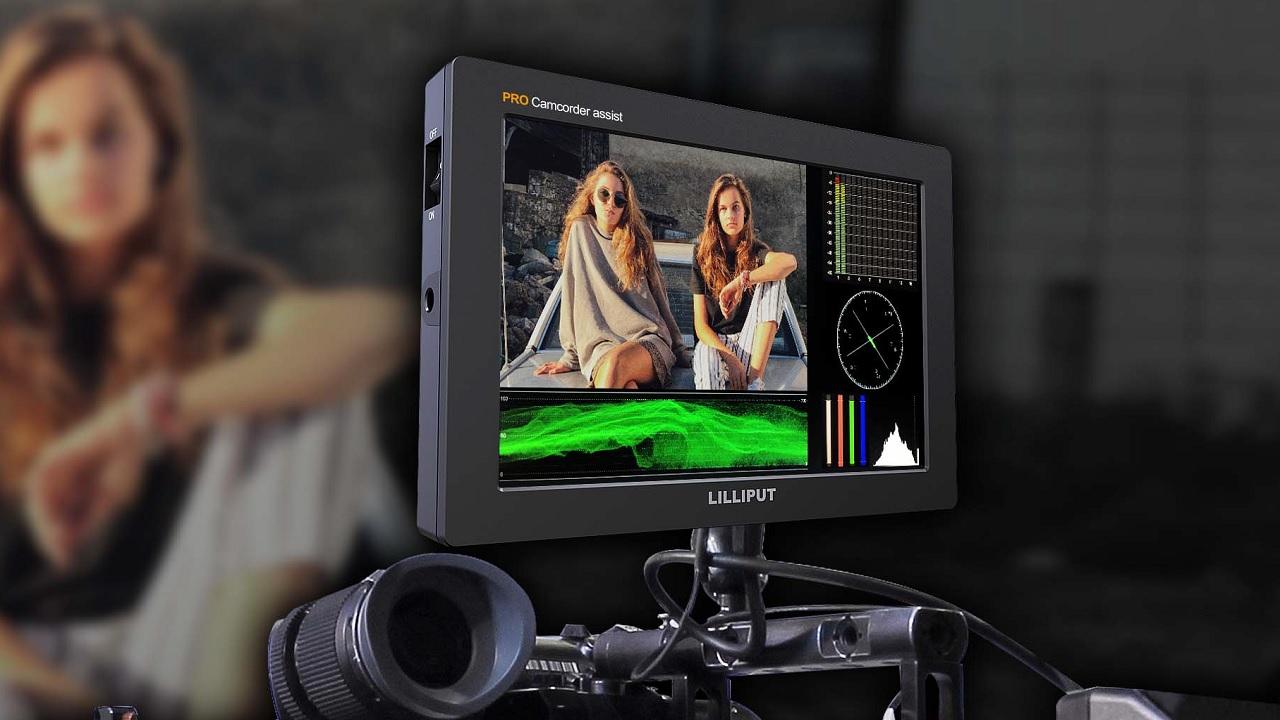 Lilliput Q7 PRO HD-SDI HDMI Monitor 7 Zoll Full HD Panel