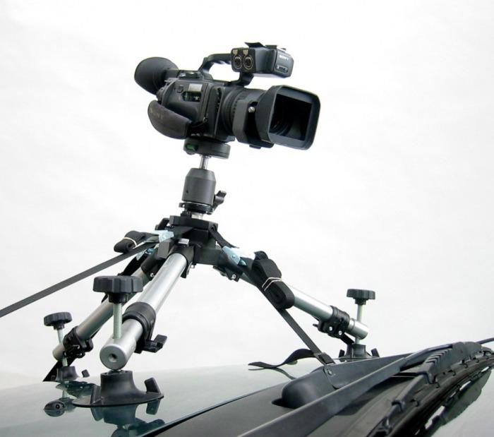 Artikelfoto DVTEC DVCarRig Combo - Videostativ zur Montage an Fahrzeugen