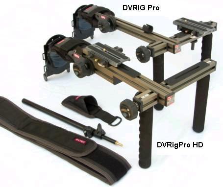 Foto DVTEC DvRigPro - stabile und stabilisierende Schulterstütze
