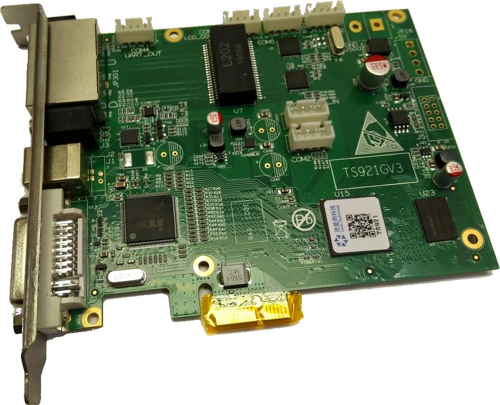Artikelfoto LINSN Sending Card TS921 intern für LED WALL