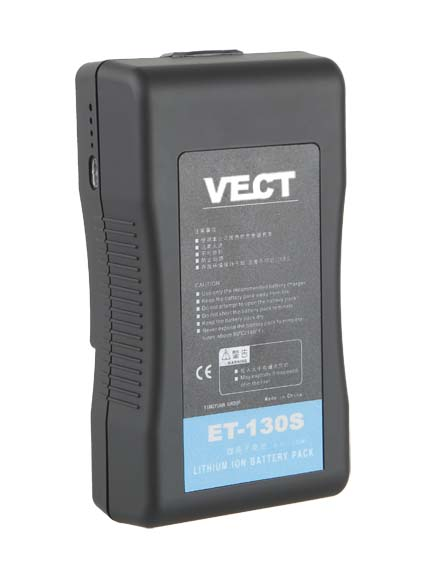 Foto VECT ET-130S 130Wh 14.8V Li-Ion Akku V-Mount