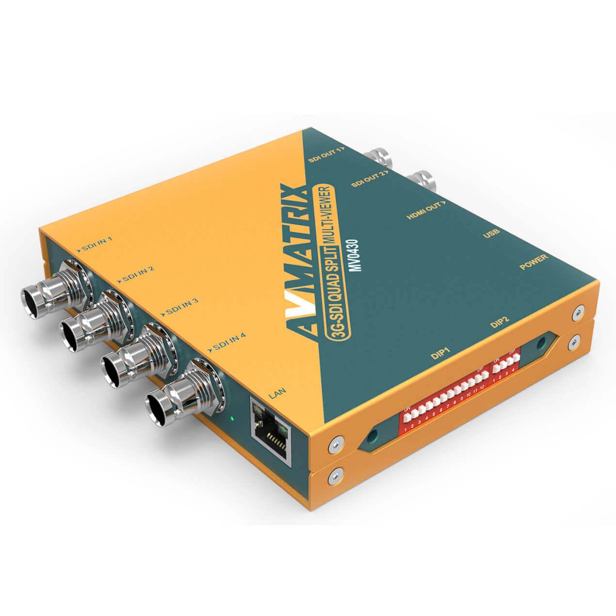 Artikelfoto AVMATRIX 3G-SDI QUAD SPLIT Multiviewer MV0430