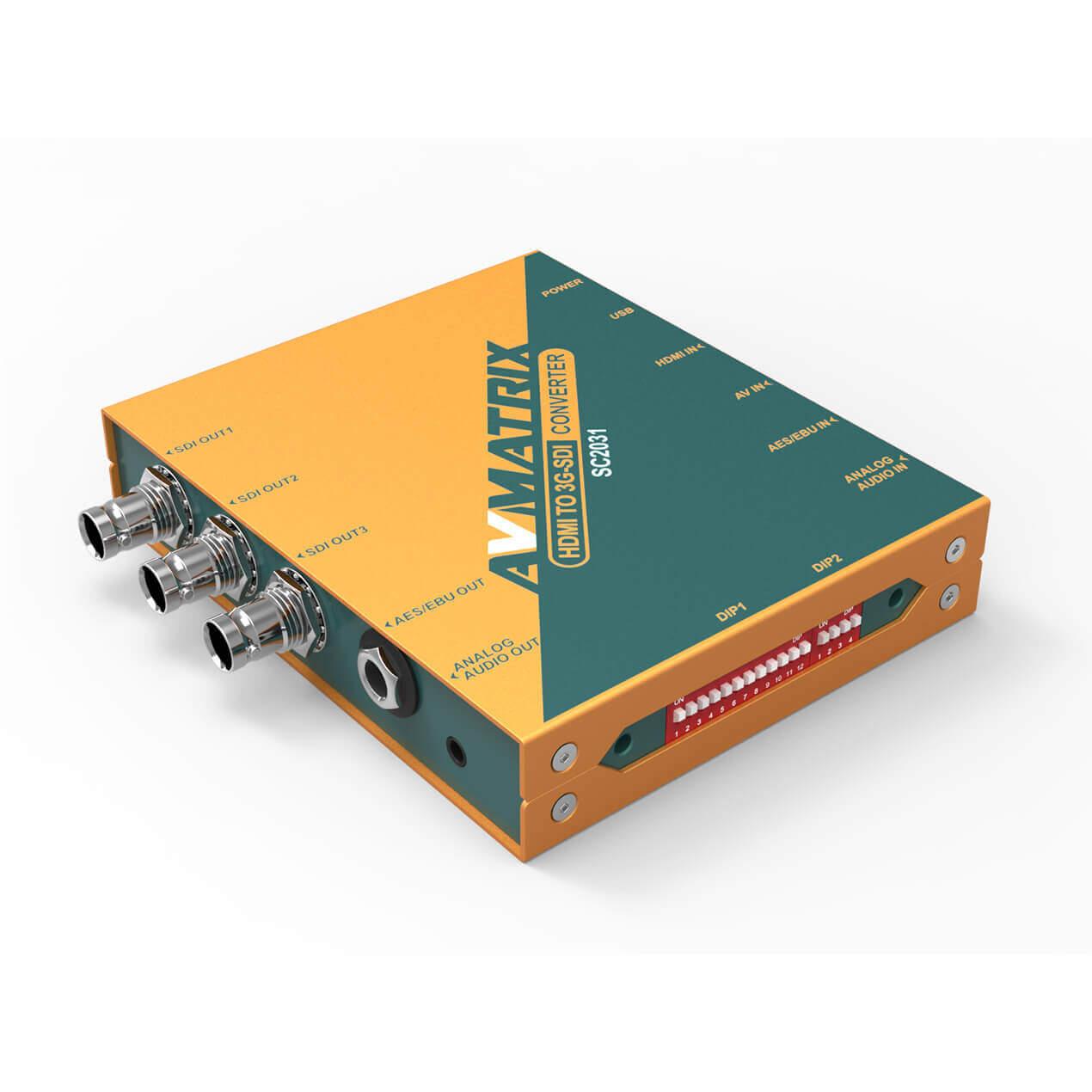 Artikelfoto AVMATRIX HDMI zu SDi Wandler mit Skalierung SC2031