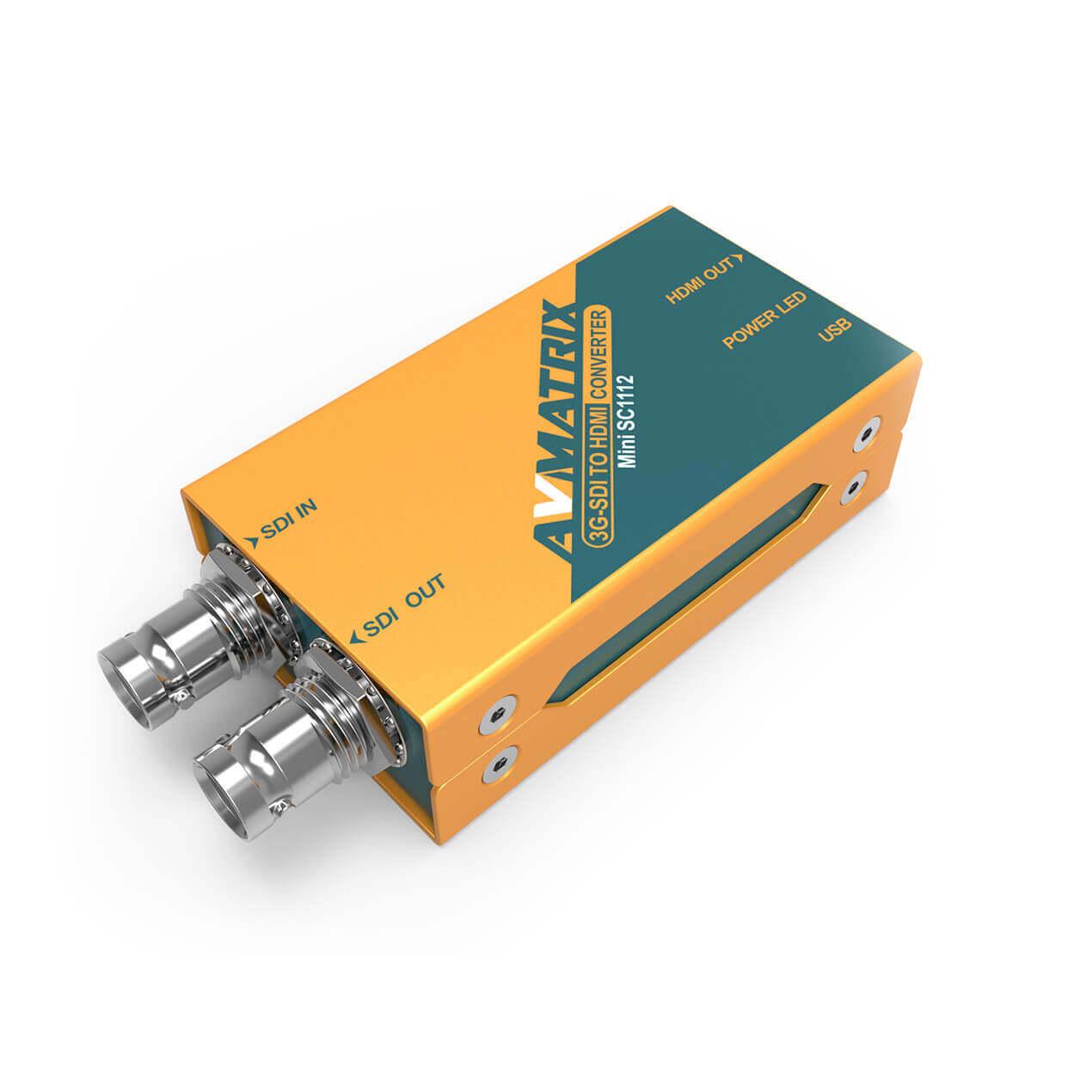 Artikelfoto AVMATRIX Mini SC1112 3G-SDI zu HDMi Wandler