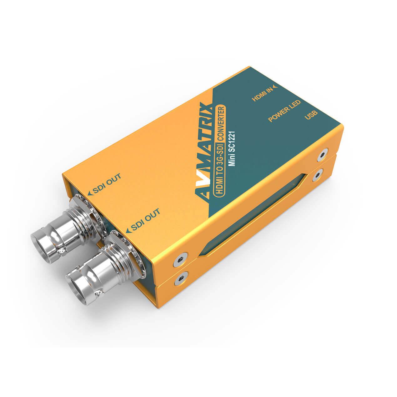 Artikelfoto AVMATRIX Mini SC1221 HDMi zu 3G-SDI Wandler