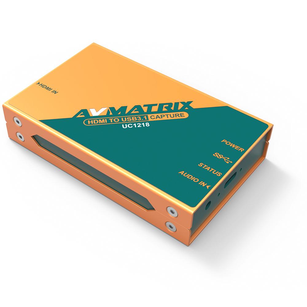 Artikelfoto AVMATRIX UC1218 HDMi Capture zu USB 3.0
