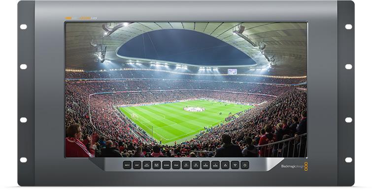 Artikelfoto Blackmagic SmartView 4K 3840 x 2160 Vollauflösung 19 Zoll Rackmount