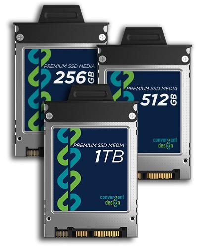 Foto Convergent Design Odyssey 1TB SSD Festplatte