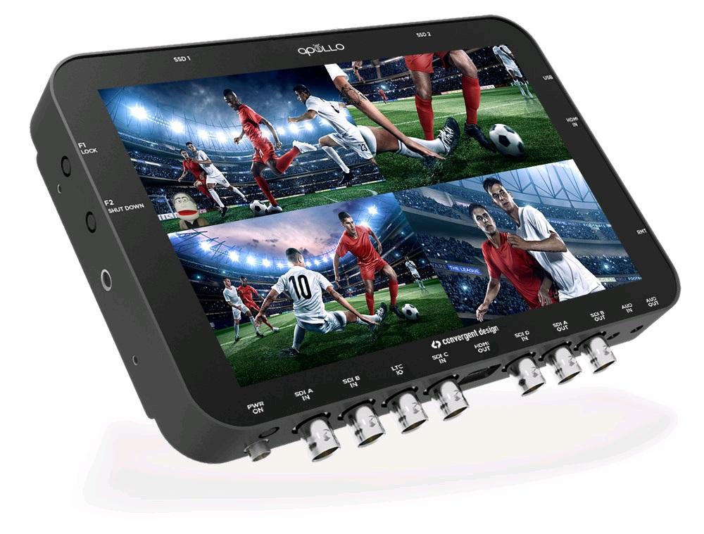Artikelfoto Convergent Design APOLLO portabler Live Switcher und Rekorder