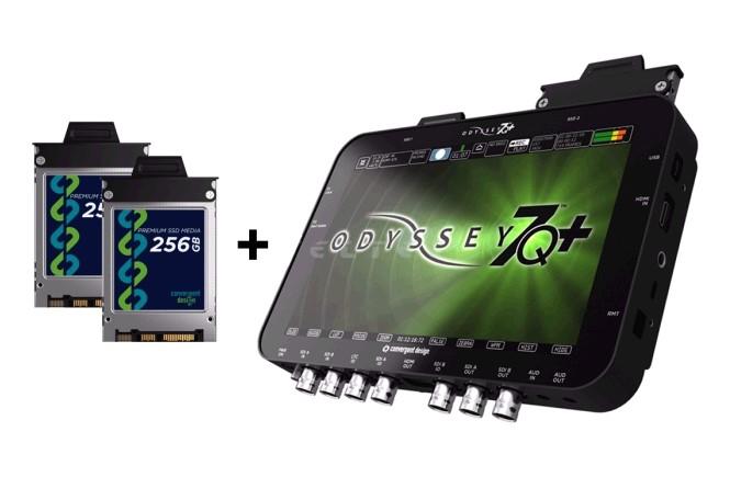 Artikelfoto Convergent Design Odyssey 7Q+ 4K SSD Rekorder inkl. 2x256GB SSD