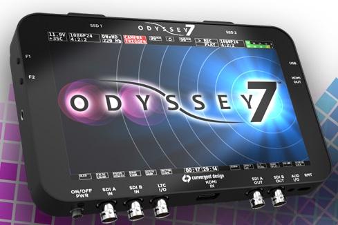 Foto Convergent Design Odyssey 7 - HD SSD Rekorder Demogerät