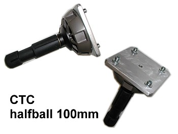 Foto CTC Mount-ADAPTER Remotehead Montageadapter 100mm HalfBall