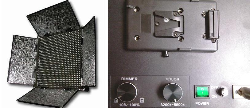 Artikelfoto 1 FineVideo LED Flächenleuchte BICOLOR 1000 ASVL Foto und Video