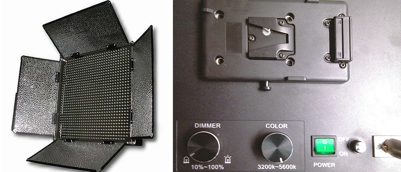 Foto FineVideo LED Flächenleuchte BICOLOR 1000 ASVL Foto und Video
