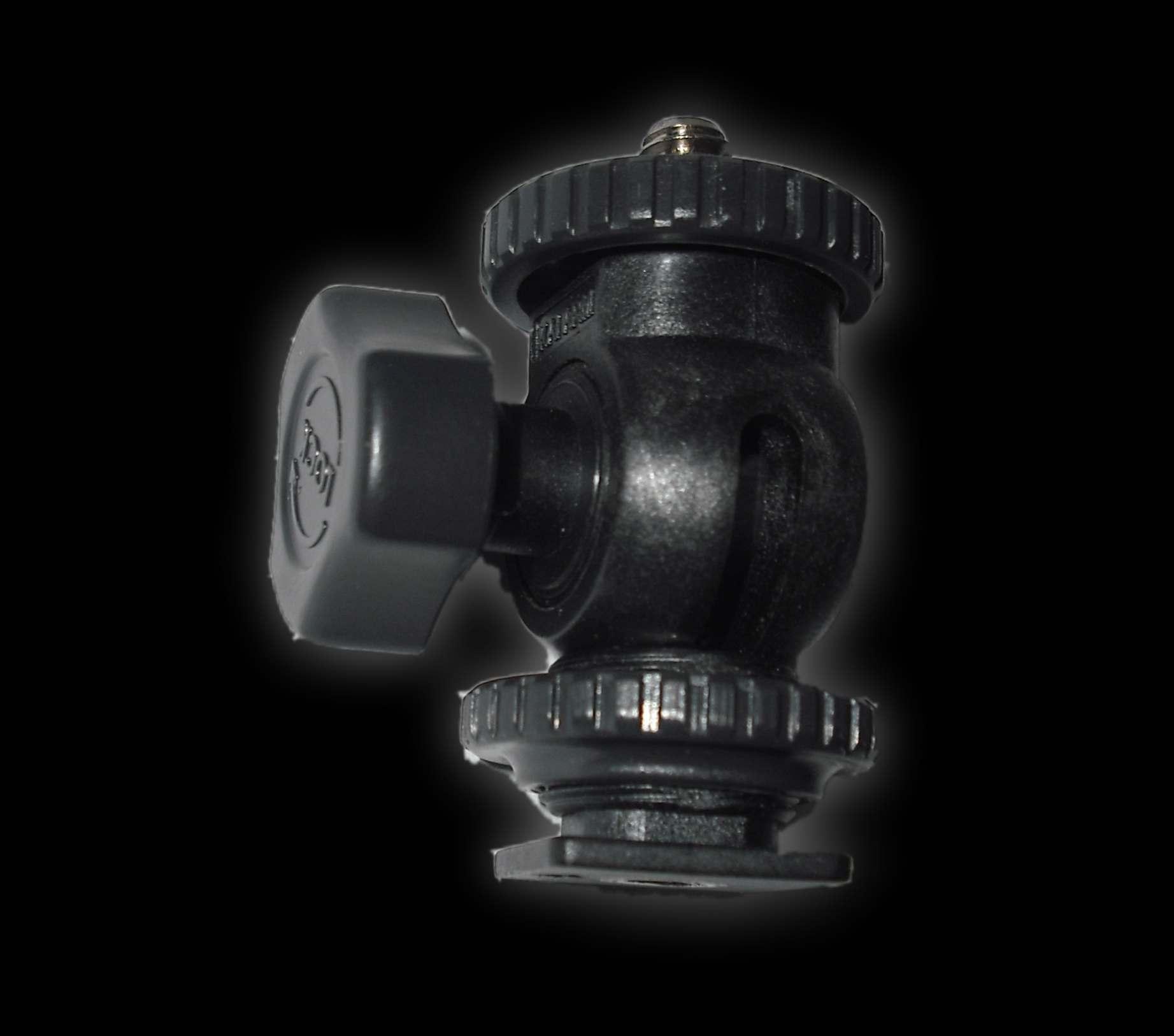 Artikelfoto 1 FineVideo Montage-Gelenkstück für Blitzschuh ( Kunststoff )