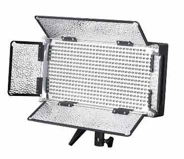 Artikelfoto FineVideo LED Flächenleuchte 5400K LED500R mit Fernbedienung Foto und Video dimmbar