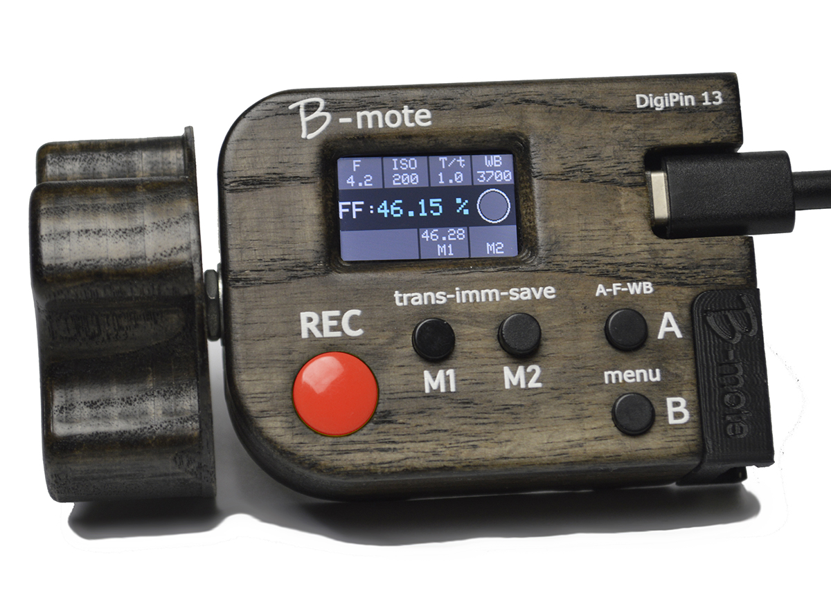Artikelfoto DigiPin13 B-Mote Steuerung für Blackmagic Kameras