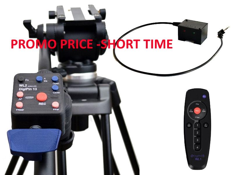 Artikelfoto DigiPin13 SUPER BUNDLE WL1 + WL2 + 1 Empfänger - Drahtlose LANC Controller für Sony Canon JVC und Blackmagic