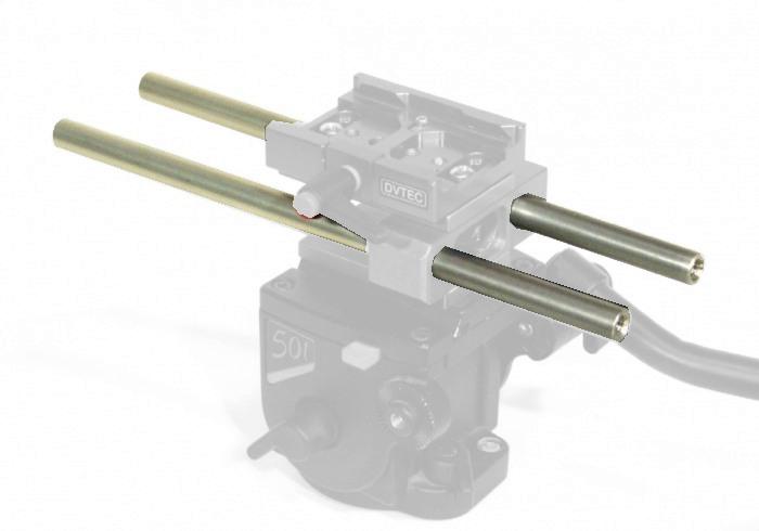 Foto DVTEC EXtreme Rod system mit 15mm Rods und Wechselplatte ( 6020 )