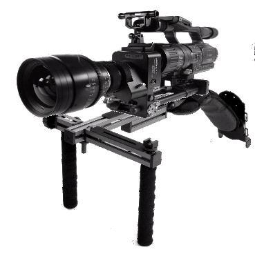 Artikelfoto 1 DVTEC DvRigPro HD Schulterstütze für Foto und Filmkameras