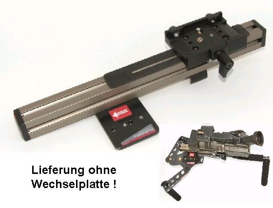Foto DVTEC MultiRig Schulterstütze Offsetplatte
