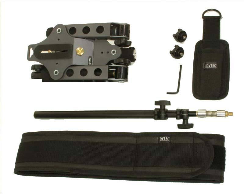 Artikelfoto DVTEC MultiRig Stabilizer Plus - Kamera Support mit Federstütze