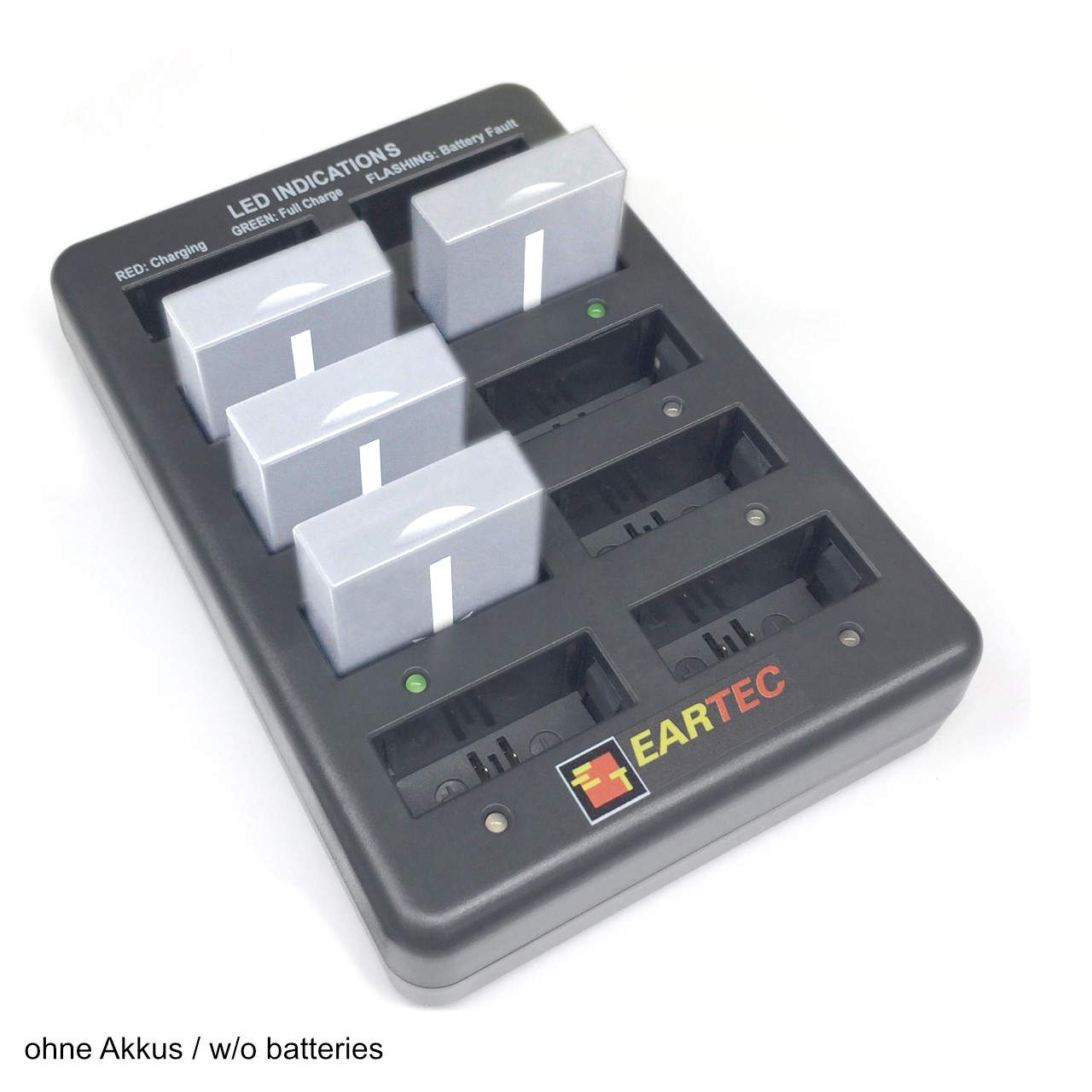Artikelfoto 1 EARTEC Wireless Intercom UltraLITE 10-fach Akku Ladegerät CHLX10E