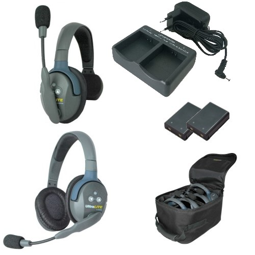 Artikelfoto EARTEC Wireless Intercom UltraLITE Single 2 HeadSets UL2SD