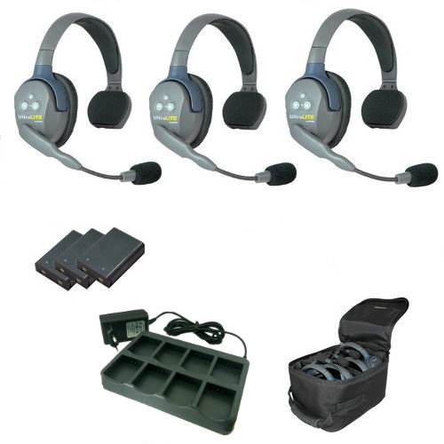 Artikelfoto EARTEC Wireless Intercom UltraLITE Single 3 HeadSets UL3S