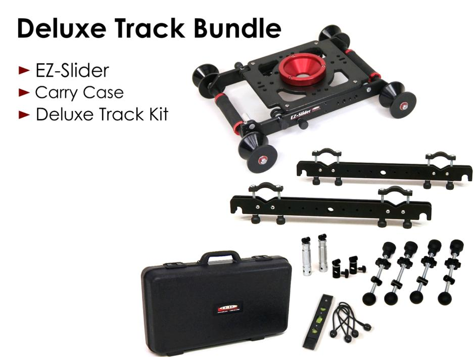 Artikelfoto 1 EZFX EZ-Slider DeLuxe Track Kit Bundle Dolly und Kamerawagen