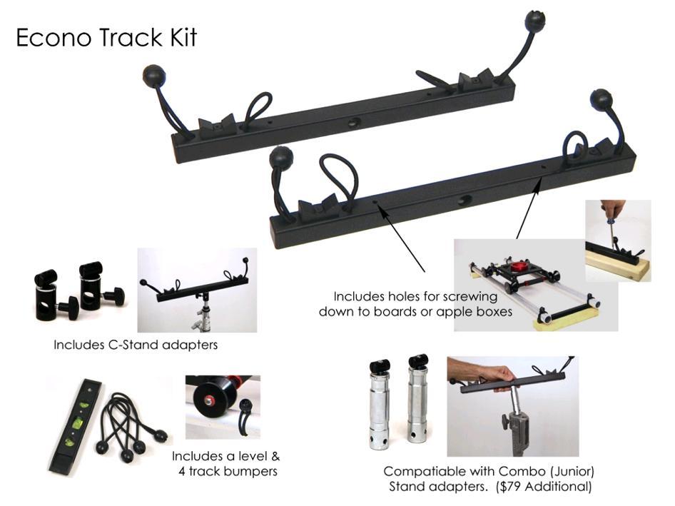 Artikelfoto 1 EZFX EZ-Slider Econo Track Kit - Slider Schienen Montagekit