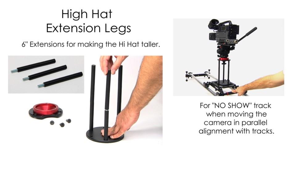 Foto EZFX EZ-Slider High Hat Verlängerungsbeine
