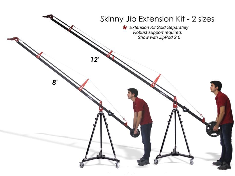 Artikelfoto 1 EZFX Skinny Jib  - Extension Kit - Verlängerung zum Basis Jib