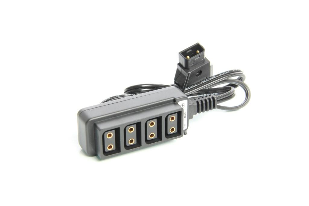 Artikelfoto 1 Powertap D-TAP Splitter Verteiler 1 x Stecker auf 4 x Kupplung