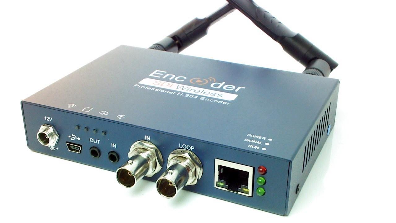 Artikelfoto Konverter 3G-SDI nach IP Stream - Streaming Encoder H264 LAN und WLAN