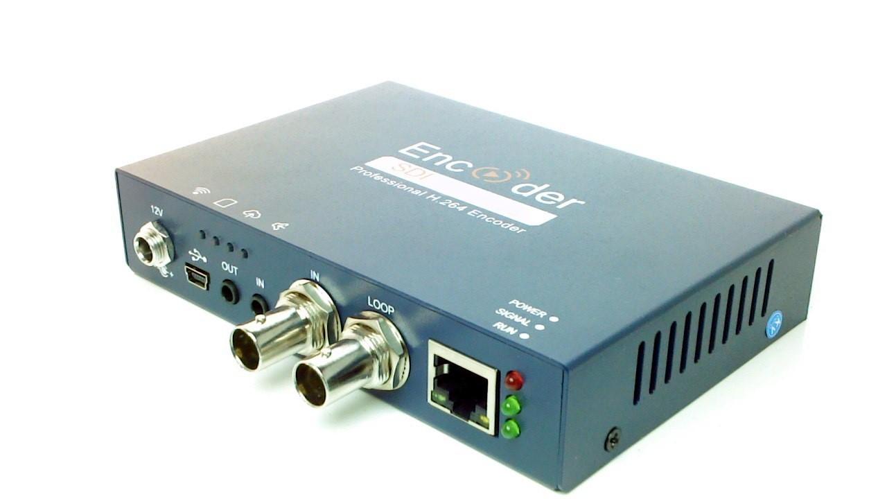 Artikelfoto Konverter 3G-SDI nach IP Stream - Streaming Encoder H264 LAN
