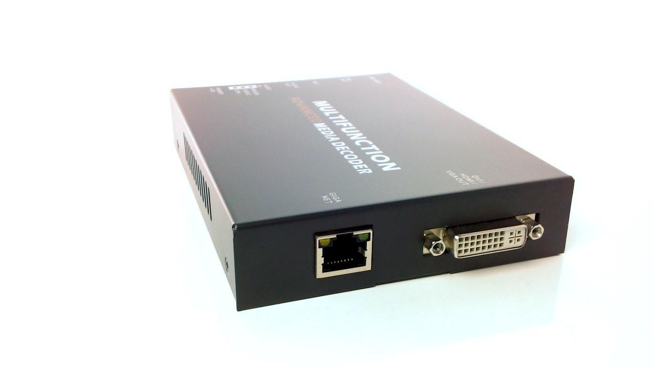 Artikelfoto Konverter IP Stream nach HD-SDI DVI VGA Streaming Decoder