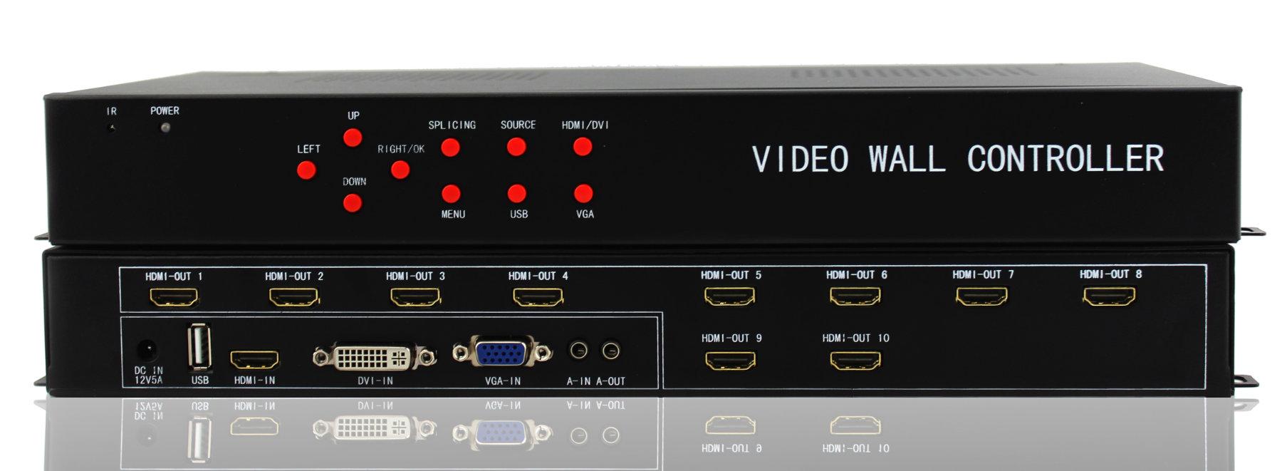 Artikelfoto FineVideo VideoWall Matrix FV1x10 mit 10 HDMI Ausgängen