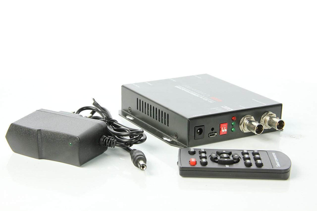 Artikelfoto Konverter 3G SDI nach HDMI VGA und FBAS mit Skalierung