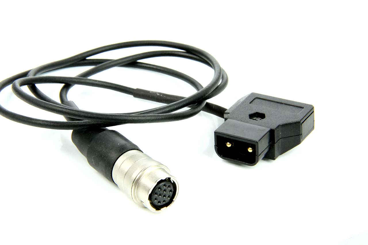 Artikelfoto Powertap D-TAP Stecker zu Optik 12 Polig HiRose zur Stromversorgung der Zoom Funktion