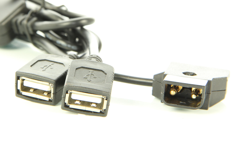 Artikelfoto Powertap D-TAP zu 2 x USB Buchse 12 Volt auf 5 Volt