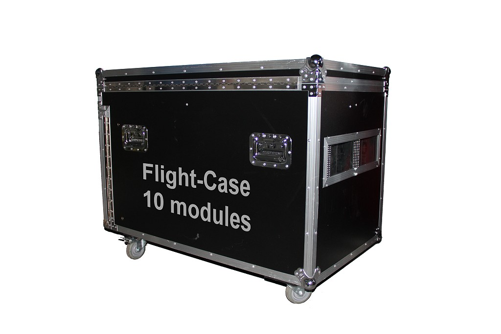 flightcase led module 10 st ck 500x500mm. Black Bedroom Furniture Sets. Home Design Ideas