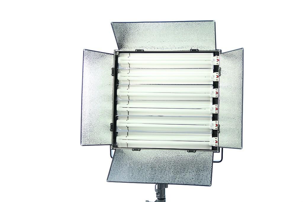 Foto Dauerlicht Flächenleuchte Fluorescent 330 Watt LH655 Foto und Video