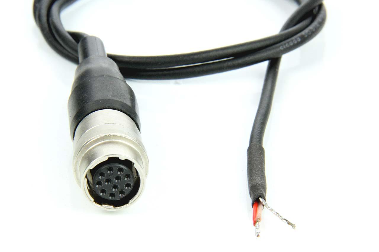 Artikelfoto Stromversorgung Optik 12 Polig auf offenes Kabelende 50cm